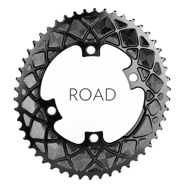 ABSOLUTE BLACK OVAL CHAINRINGS - FREE FITTING!