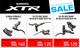 SELECTED SHIMANO XTR ITEMS NOW ON CLEARANCE SALE