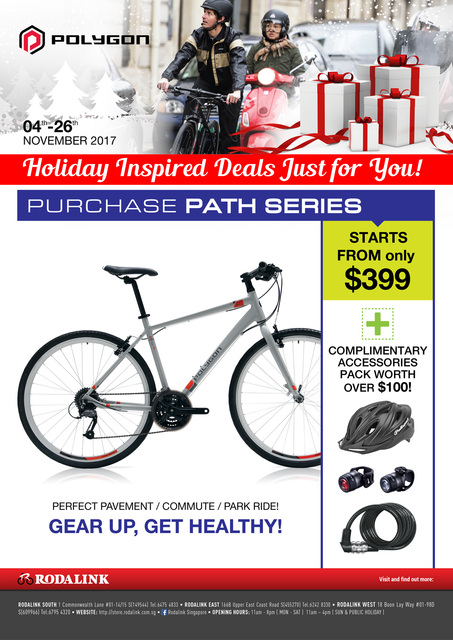 Singapore Bike Shop Promotions And News