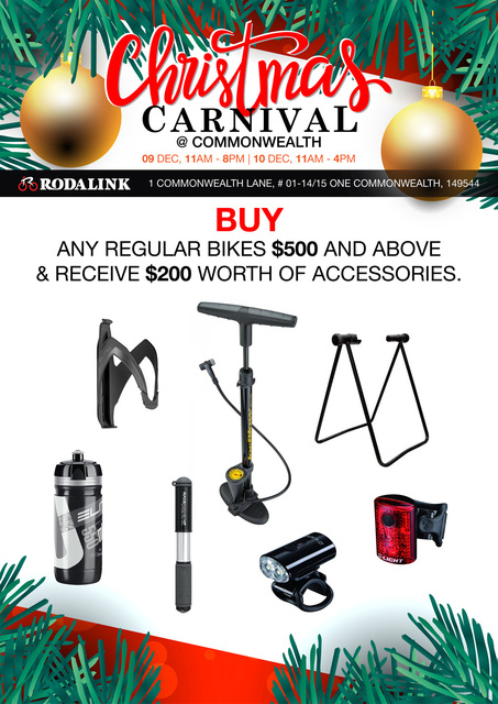Christmas Carnival @ Rodalink  Commonwealth