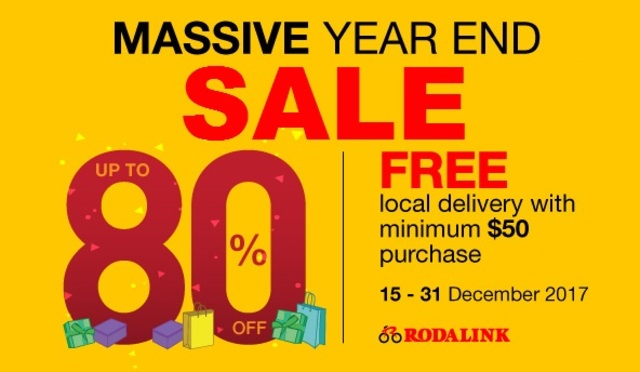 RODALINK MASSIVE YEAR END SALE