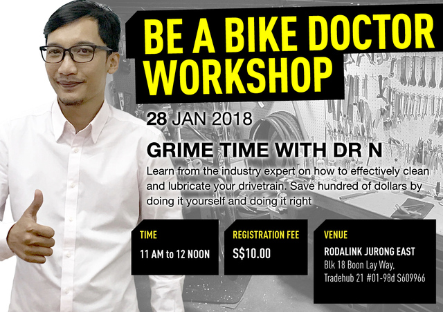 Be A Bike Doctor Workshop - Grimetime with Dr N