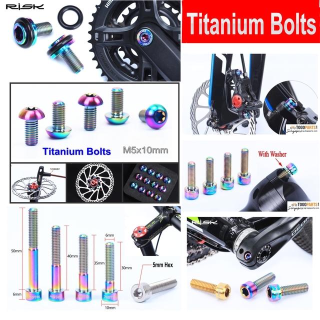 Jet Cycle - Titanium Bolts | Togoparts com