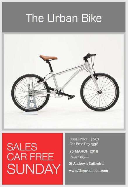 The Urban Bike Sales - Perfect for your Car Free Sundays!