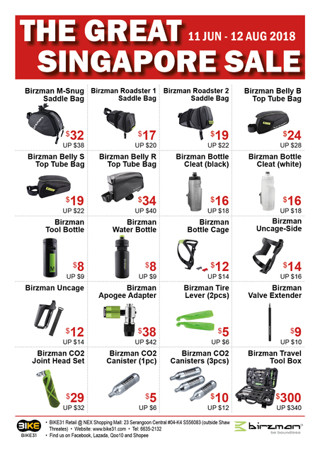 BIKE31 GSS Sale 2018 (Birzman Pumps and Tools) - Page 2