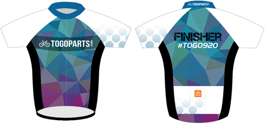 #TOGO920 Finisher Jersey