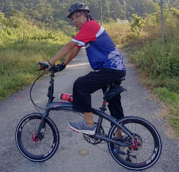 TRS Folding bike   Togoparts Rides