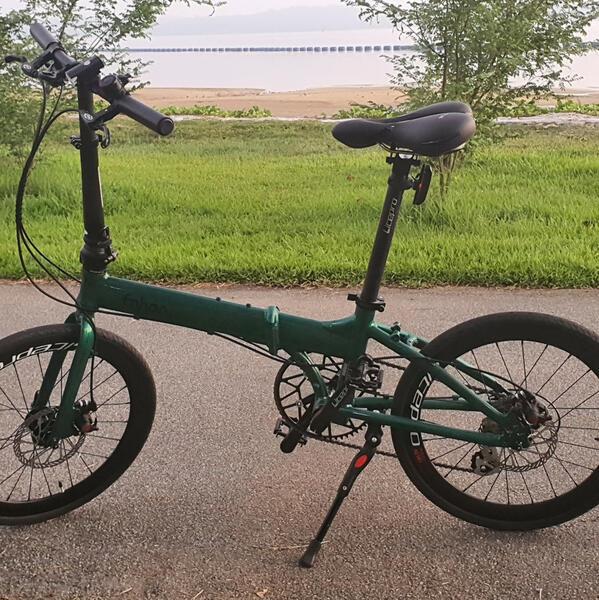 My green buddy   Togoparts Rides