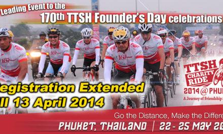 Tan Tock Seng Hospital Charity Ride 2014