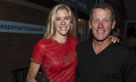 Lance Armstrong's Girlfriend took blame for him in car crash