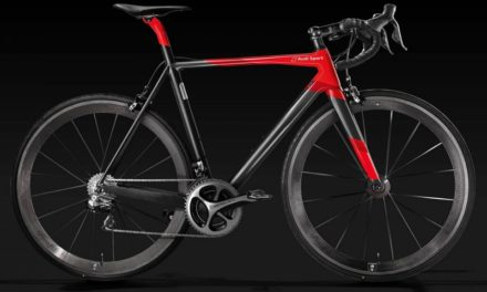 Audi debuted new racing bike!