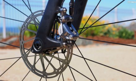 Professional road racing will soon be using disc brakes!