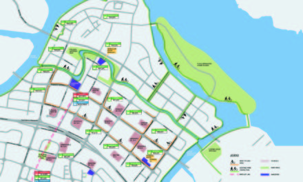 Cycling networks for Punggol, Jurong Lake and East Coast by 2017!
