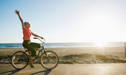 Aerobic activity, including cycling, keeps ageing away!