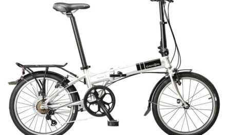 A foldable bike that unfolds in seven seconds and doubles as a storage unit!