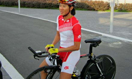 SEA Games cycling contender Dinah Chan feeling the heat!