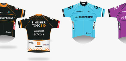 #TOGO810 Finisher Jersey Collection 10th April 2016 (Sunday) 1pm