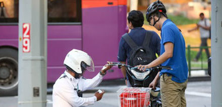 Over 250 charges against illegal motorized bike users