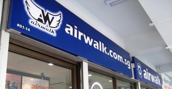 Airwalk Grand Opening