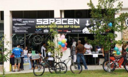 Saracen Bikes in Singapore