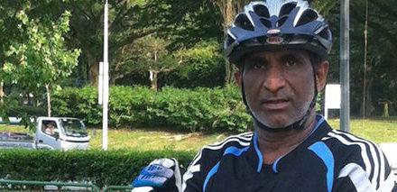 Singaporean Mountain Biker collapsed during Mountain Bike Race in Pasir Gudang, Malaysia!