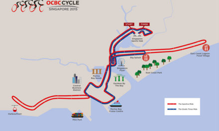 Preliminary Routes For OCBC Cycle 2015