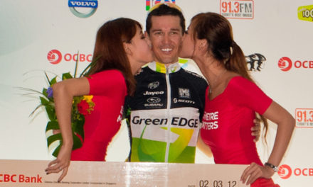 ROBBIE MCEWEN TRIUMPHS AT OCBC CYCLE SINGAPORE 2012