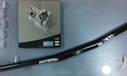 "Reverse Executor stem and Reverse XXL DH-Race ""fli-bar"" Review"