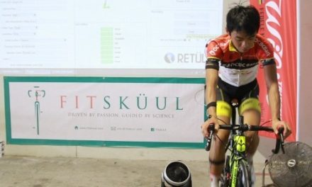 FitSkuul fit session with Low Ji Wen, OCBC Singapore Pro Cycling Team rider