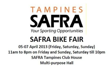 SAFRA Bike Fair 2013