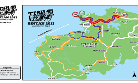 TTSH Charity Ride 2013: Routes