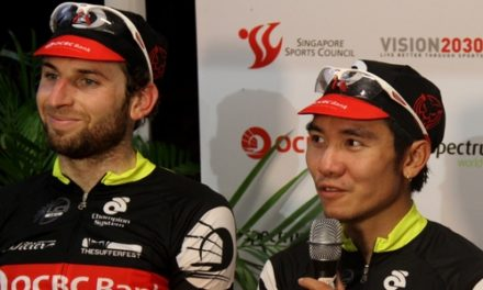 OCBC Singapore Pro Cycling Team thrills home crowd with sparkling performance at OCBC Cycle Singapore