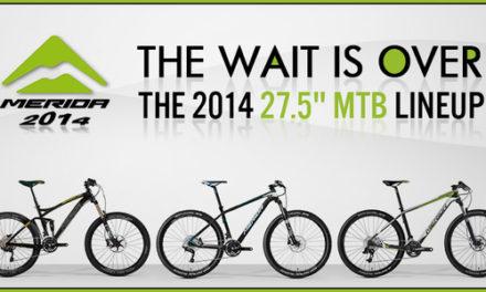 "Merida 2014 27.5 MTB"" Lineup"