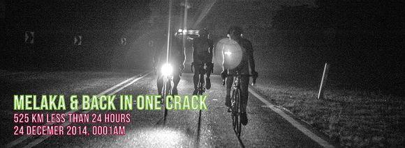 Trio of Riders Crack 24-Hour Melaka Goal