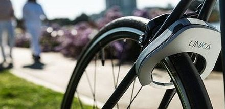 Linka, the world's first auto-unlocking bike lock!