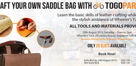 Craft your own leather saddle bag!