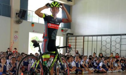 OCBC Cycle Singapore Takes Safe Cycling Message to School
