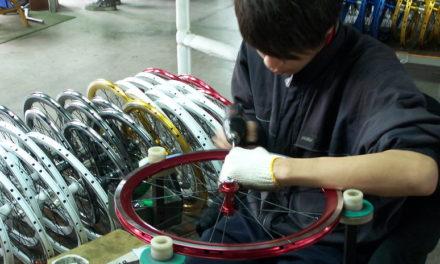WheelSport Factory Tour in Taichung, Taiwan