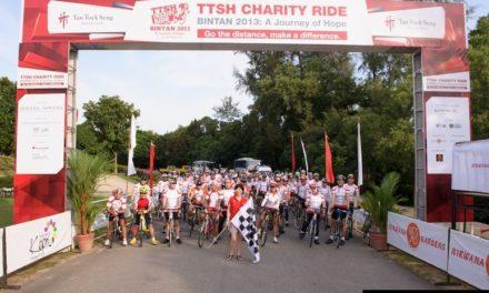 Tan Tock Seng Hospital Goodwill Ride 2013