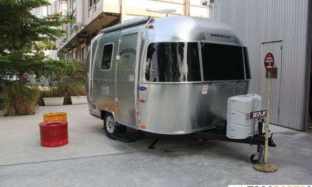 Wheeler's Yard adds caravan to their decor