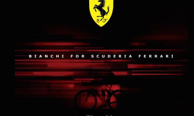 Ferrari and Bianchi reveal their first bike