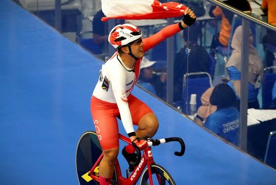 20-year drought of track cycling gold ended