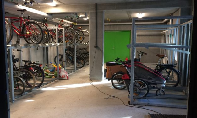 Sweden opens world's first bicycle apartment building