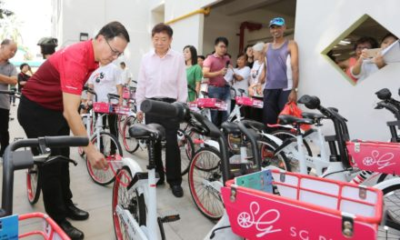 Singapore welcomes a new bike sharing company called SG Bike