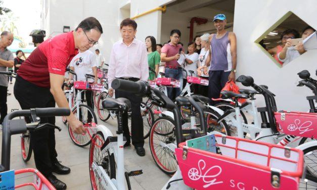 Singapore welcomes a new bike sharing company called SG Bike