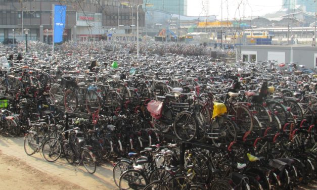 Netherlands opened the largest bicycle parking building in the world