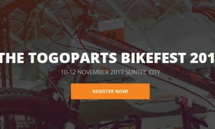 Togoparts Holds Its Bike Fest on the 10-12 November 2017 at Suntec City