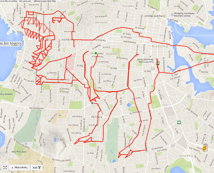 Strava Artist Stephen Lund and The Art of Sketch-As-You-Ride