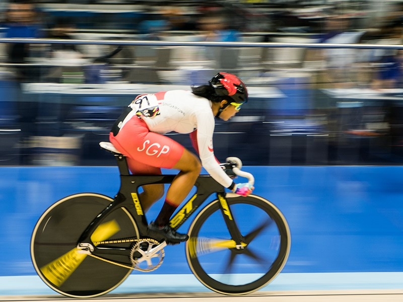 Elyas Wins ACC Track Asia Cup at the Velodrome Huamark for Singapore