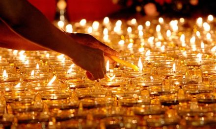 Vesak Day: Where to See the Shrines, Dine & Candlelit Lines